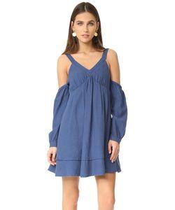 J.O.A. | Расклешенное Платье С Открытыми Плечами