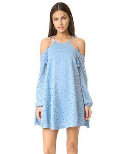 J.O.A. | Кружевное Платье С Открытыми Плечами