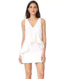 KENDALL + KYLIE | Платье С Двойным V-Образный Вырезом И Оборками