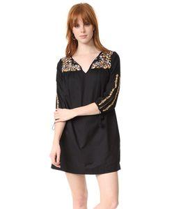 Madewell | Платье С Вышивкой И Рукавами С Разрезами