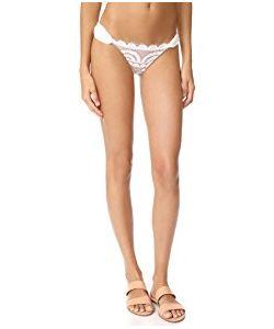 Pilyq | Lace Fanned Full Bikini Bottoms