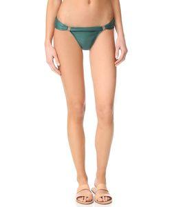 Vix Swimwear   Однотонные Закрытые Плавки Бикини Bia С Трубками