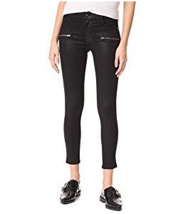 James Jeans | Coated Twiggy Ankle Zip Leggings