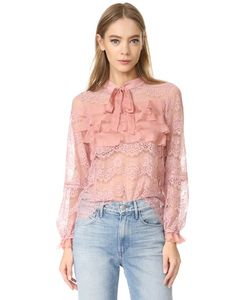 Glamorous | Кружевная Блуза С Оборками