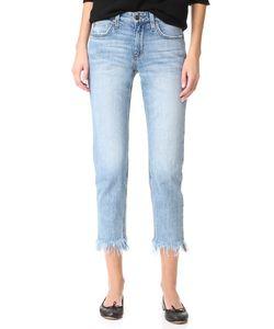 Joe'S Jeans | Прямые Джинсы До Щиколотки Smith Со Средней Посадкой