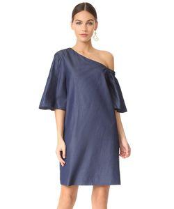 Tibi | Платье На Одно Плечо С Расклешенными Рукавами