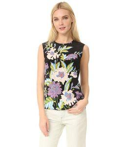 Diane Von Furstenberg | Блуза Без Рукавов С Цветочным Принтом