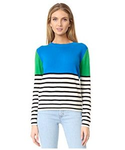Chinti And Parker | Colorblock Stripe Cashmere Sweater