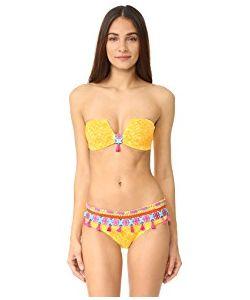 Ondademar   Limoncello Structured Bandeau Bikini Top