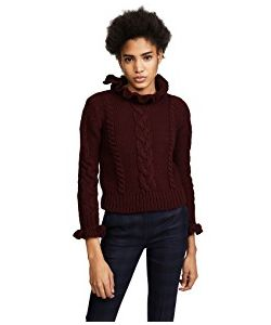 See By Chloe | Ruffle Neck Pullover