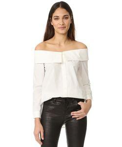 re:named | Рубашка С Воротником И Открытыми Плечами