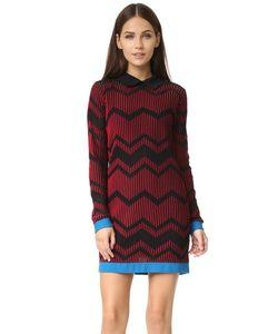 Missoni | Двухцветное Зигзагообразное Платье