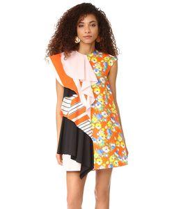 MSGM | Платье С Комбинированным Принтом