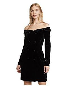 L'Agence | Romilly Velour Jacket Dress