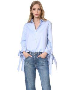 Clu | Рубашка С Завязками На Бант На Манжетах
