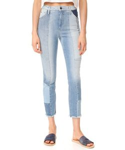 Joe'S Jeans | Укороченные Прямые Джинсы Bella