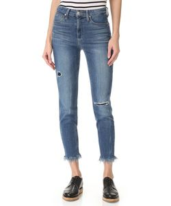 Joe'S Jeans   Укороченные Джинсы Charlie С Высокой Посадкой