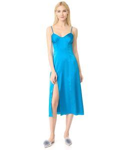 Michelle Mason | Платье-Бюстье Средней Длины С Разрезами
