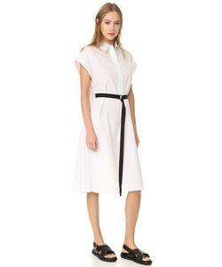 TOME | Платье-Рубашка С Короткими Рукавами