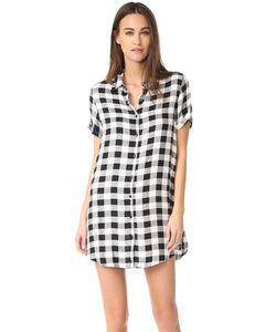 Bb Dakota   Платье-Рубашка Alexia В Клетку