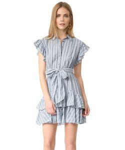 Rebecca Taylor | Платье В Полоску С Короткими Рукавами