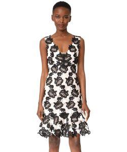 Monique Lhuillier | Платье Без Рукавов С Оборками