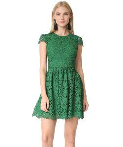 Alice + Olivia | Платье Для Вечеринки Corina С Короткими Рукавами