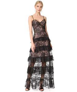 Nicholas   Многоярусное Кружевное Вечернее Платье Rosie