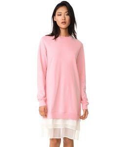 Clu | Платье Со Складками Внизу