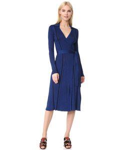 Diane Von Furstenberg | Платье-Халат С Длинными Рукавами