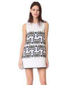 Cynthia Rowley | Свободное Платье С Вышивкой Из Проклеенной Ткани