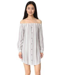 WAYF | Платье-Рубашка Rachel С Открытыми Плечами