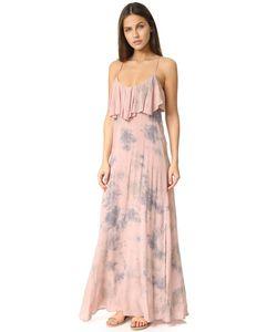 Blue Life   Платье Enchanted С Оборками И Завязками На Спине