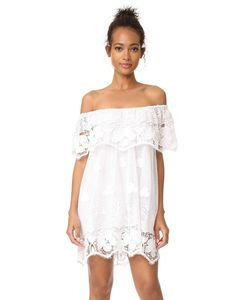Miguelina | Платье С Открытыми Плечами Angelique