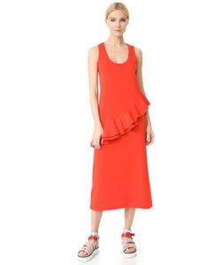 MSGM | Асимметричное Платье Без Рукавов