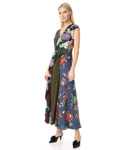Diane Von Furstenberg | Платье С Драпированной Оборкой