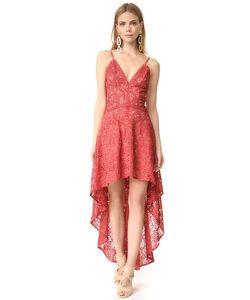 THE JETSET DIARIES | Асимметричное Кружевное Платье Rava