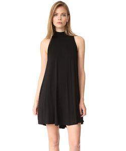 Enza Costa | Короткое Воздушное Платье С Воротником Под Горло