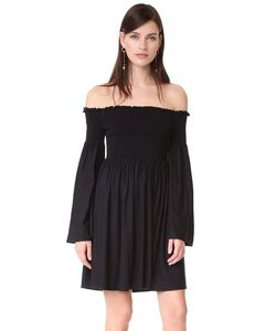 MLM LABEL   Открывающее Плечи Платье Portland