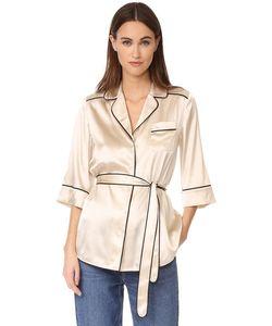 Whistles | Шелковая Пижамная Рубашка Slyvia