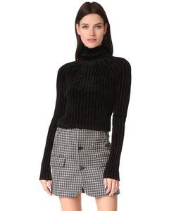 Helmut Lang | Укороченный Пуловер С Т-Образным Вырезом