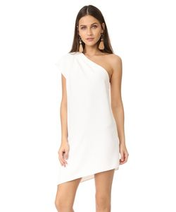 Alice+Olivia | Асимметричное Платье Melina С Открытым Плечом