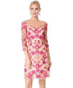 Marchesa Notte | Коктейльное Платье С Вышивкой