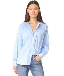 Vince | Блуза С Мягкой Плиссировкой
