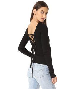 Tibi | Пуловер С Овальным Вырезом Сзади