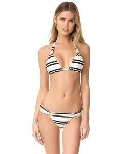 Vix Swimwear | Классический Топ Tube Косого Кроя