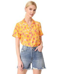 ADAM SELMAN | Пижамная Рубашка Raine