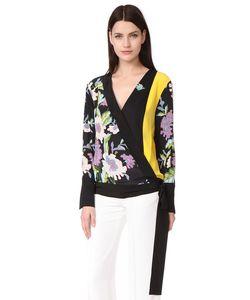 Diane Von Furstenberg | Блуза С Перекрещенной Отделкой