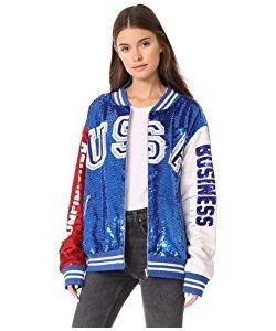 Ashish | Usa Dodgers Varsity Jacket