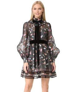Marc Jacobs | Платье С Длинными Рукавами И Оборками